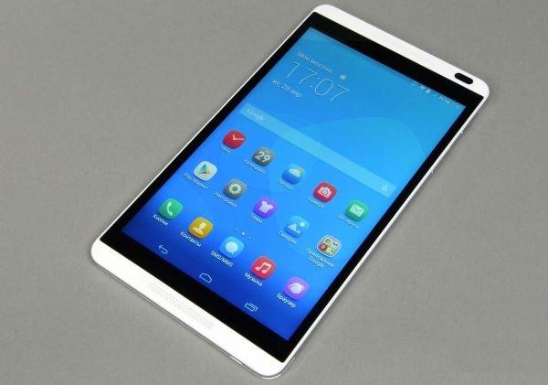 Китайская компания Huawei представила новый планшет MediaPad M2