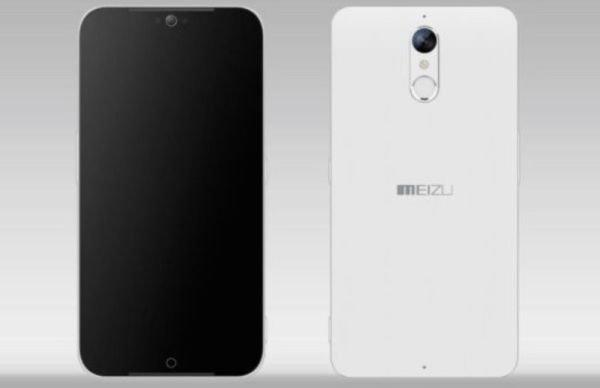 Компания Meizu трудится над разработкой нового безрамочного смартфона