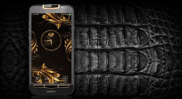Компания GEMRY выпустила новый смартфон класса люкс