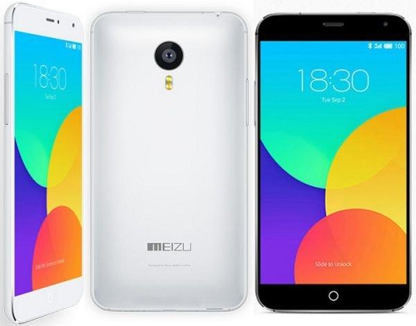 В Китае появился смартфон MEIZU MX4