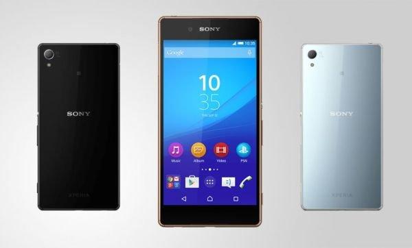 Sony представила свою новую разработку Xperia Z3+