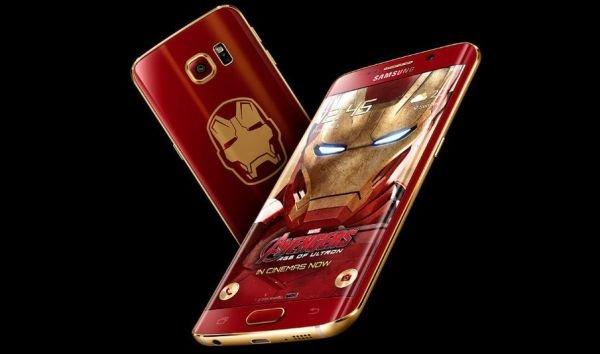 Самсунг анонсировал новый смартфон Galaxy S6 Edge Iron Man Limited Edition