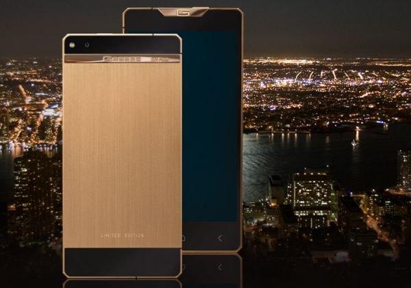 Компания Gresso анонсировала новый смартфон класса люкс Regal Gold