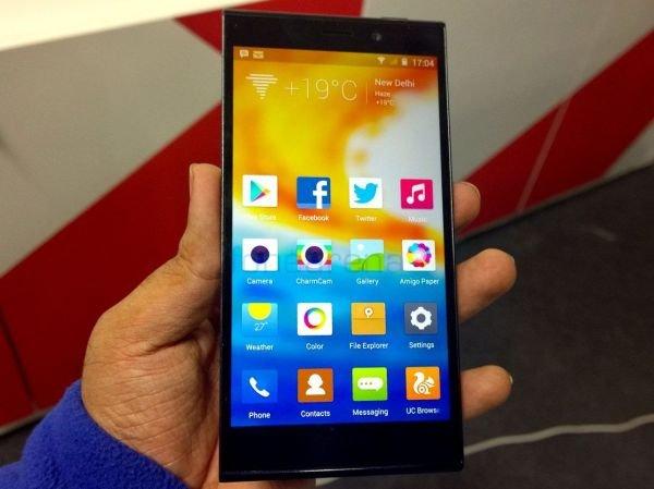 Стала известна стоимость китайского смартфона Gionee Elife E8