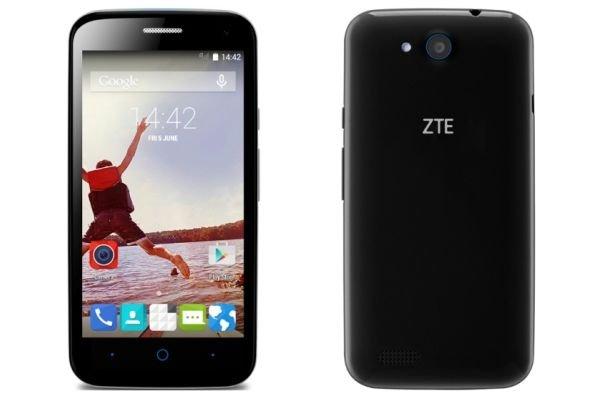 Компания ZTE представила свой новый смартфон Blade Qlux 4G