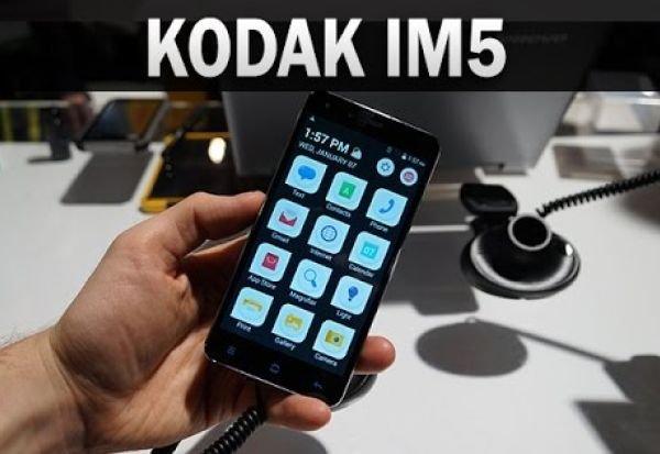 В продажу поступил смартфон Kodak IM5