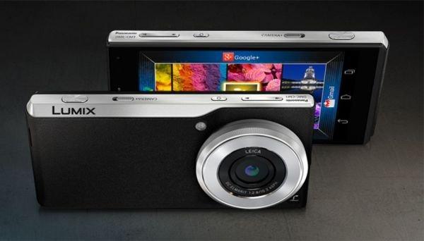 В продажу поступил новый камерофон Panasonic Lumix CM1