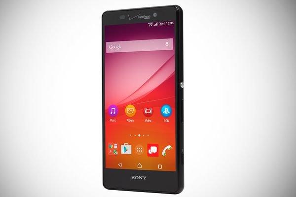 Sony представила свой новый смартфон Xperia Z4v