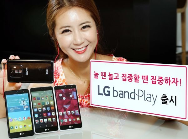 LG анонсировал свой новый телефон среднего класса Band Play