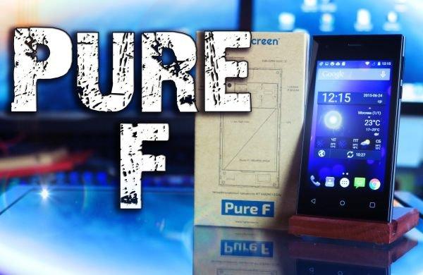 В РФ в продажу вышел смартфон Highscreen Pure F