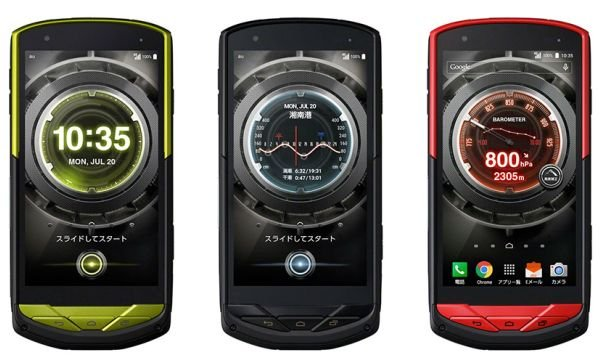 Два смартфона Kyocera для KDDI