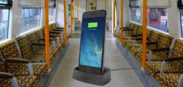 Запрет на зарядку телефонов в London Overground