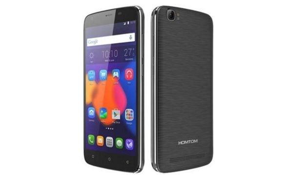 Телефон Homtom с батарей на 6250 мАч