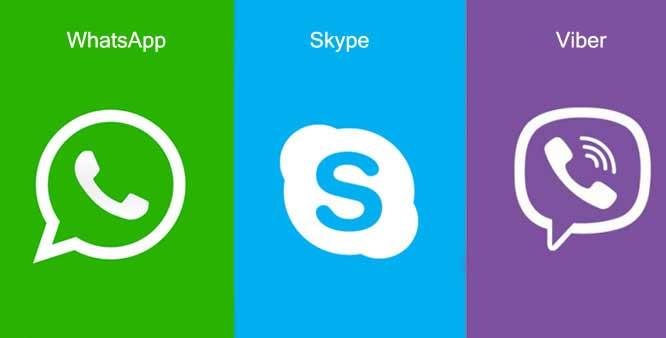 Программы для общения Андроид-устройств